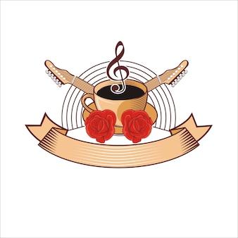 カフェライブミュージックロゴ
