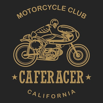 Caferacer motorcycle