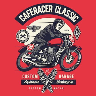 Caferacer rider classic