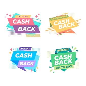 Cahback label collection concept