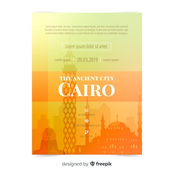 Cairo flyer template