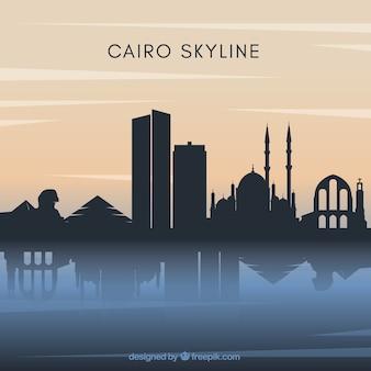 Cairo skyline background