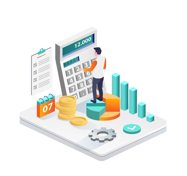 소득 및 재무 보고서 계산