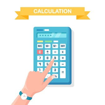 Calculation, accounting concept