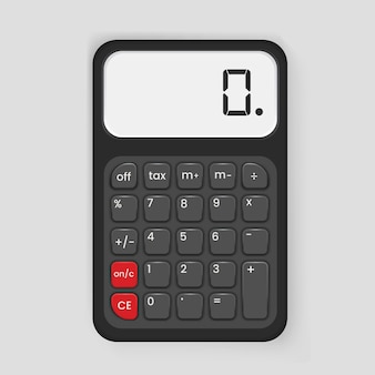 Calculator icon illustration
