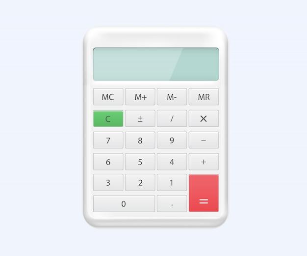 Calculator of realistic electronic