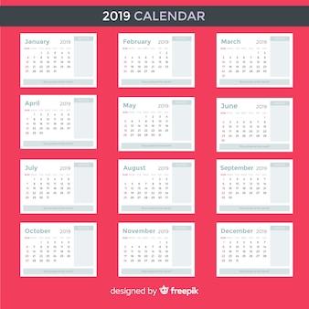カレンダー2019