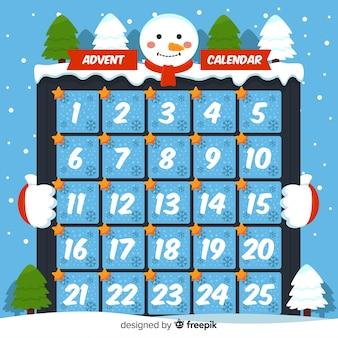 Calendar advent