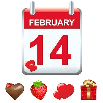 Календарь и значки