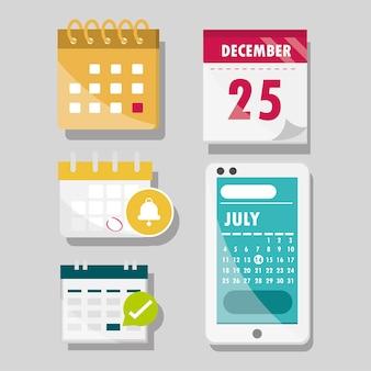 カレンダージェネリックとアプリ