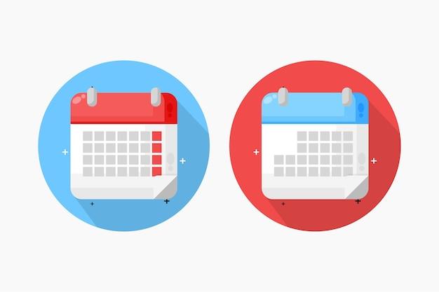 Дизайн иконок календаря