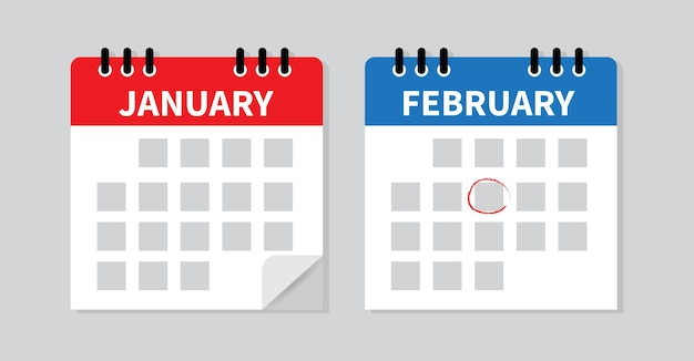 Calendar mark the date and schedule