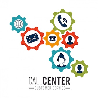 コールセンターと技術サポート