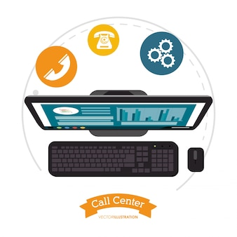 Компьютерная помощь call-центра онлайн