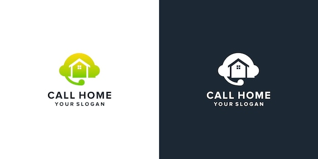 Call center with home logo