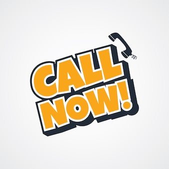 Call now sign