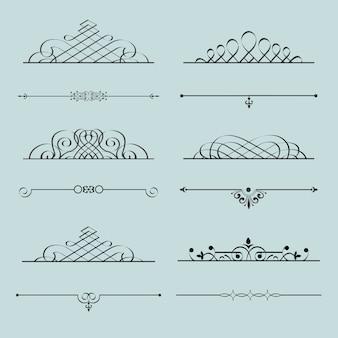 Calligraphic element