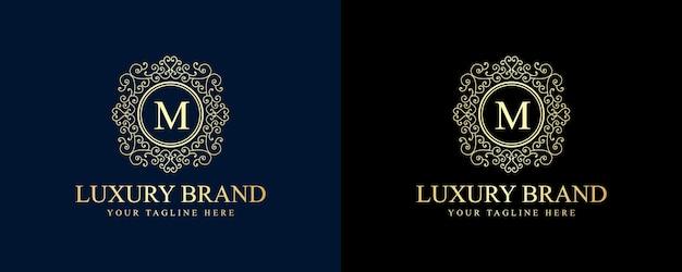 書道のフェミニンな花の美しさのロゴ手描き紋章モノグラムアンティークビンテージスタイルの豪華なデザインのホテルレストランカフェコーヒーショップスパビューティーサロン高級ブティック化粧品