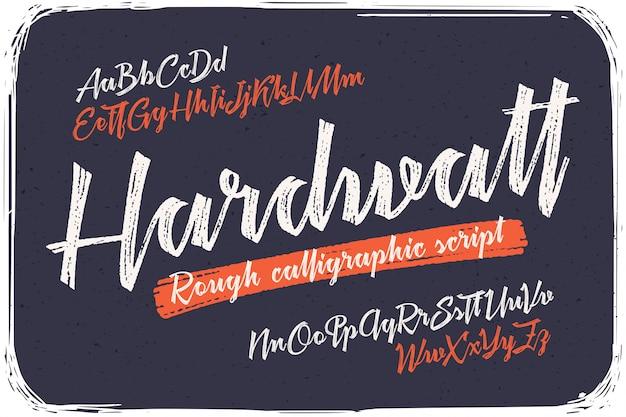 Набор каллиграфических шрифтов