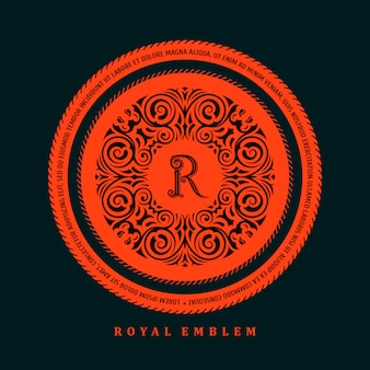 Шаблон каллиграфического логотипа