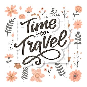 Каллиграфические надписи надписи time to travel иллюстрации