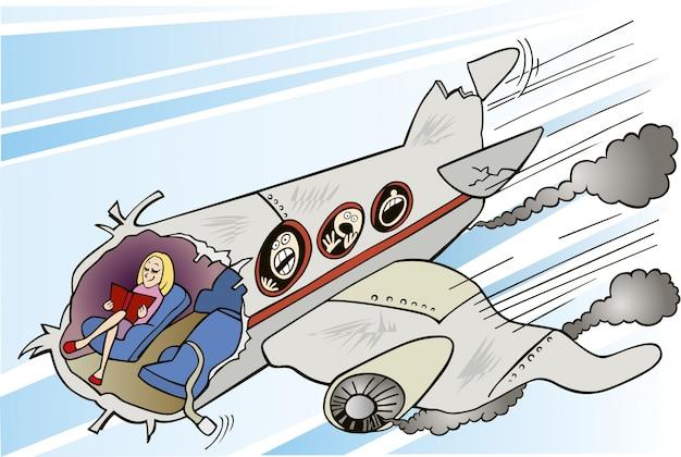 진정 소녀와 비행기 호감