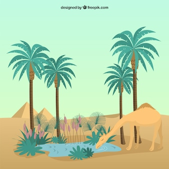 Sahara oasis desert computer icons download free commercial.