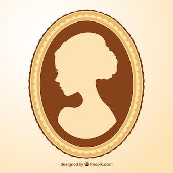 Камея женщины
