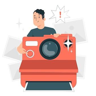 Cameraconcept illustration