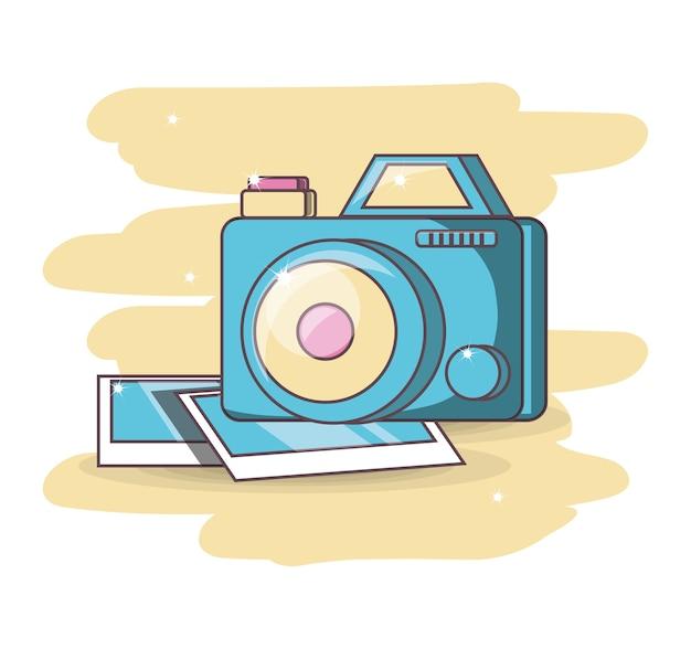 Camera device dowloading picture design