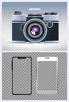 Camera digital technology with smartphones