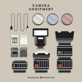 Camera equipment collection