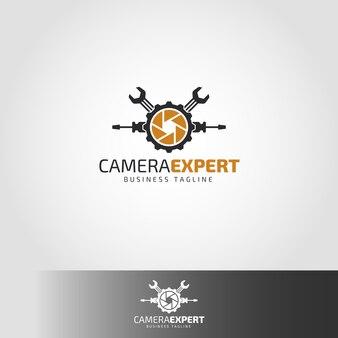 Camera expert logo template