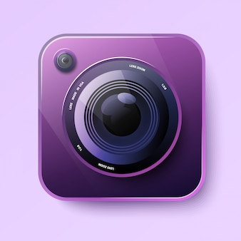 Camera icon for app