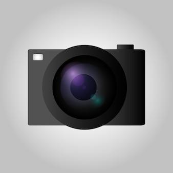 Камера в плоском стиле