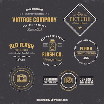 Camera logo collection