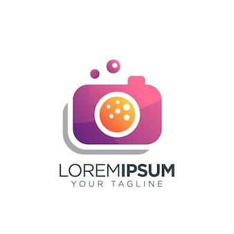 Camera logo modern
