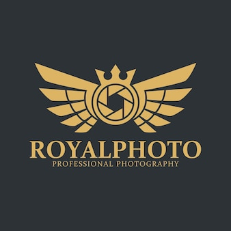 Camera logo - royal photography studio