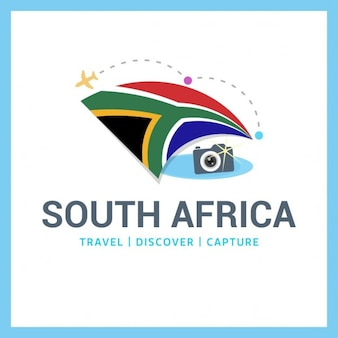 Camera logo with south african flag