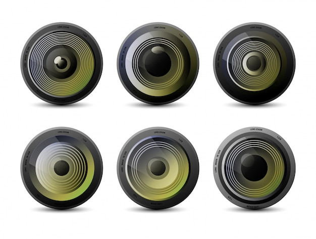 Camera photo lens collection