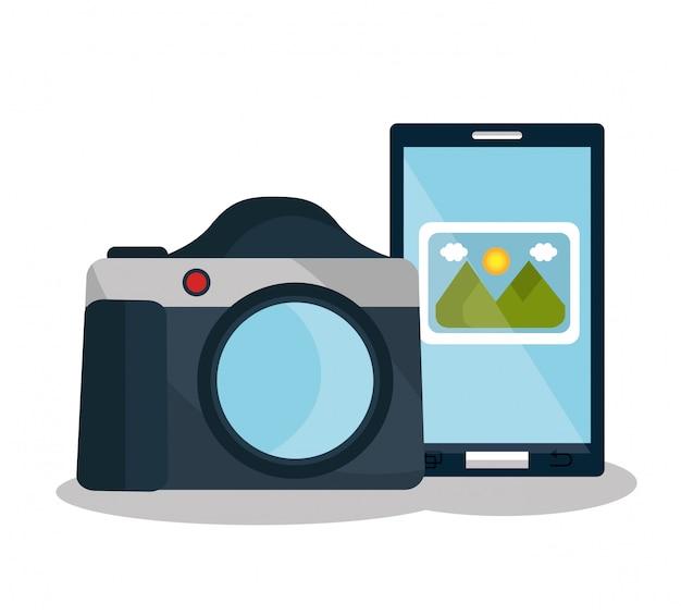 Camera photography design