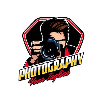 Camera photography logo badges
