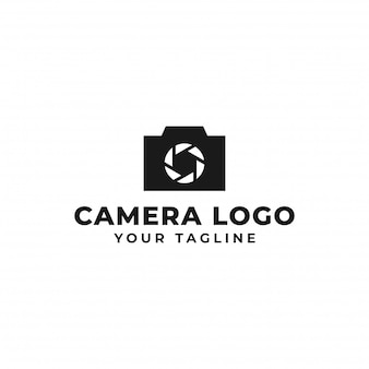 Camera photography, shutter logo design