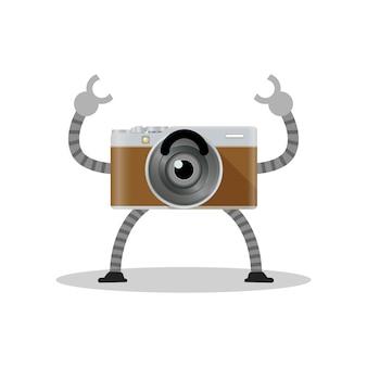 Camera robot object