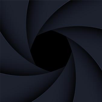 Camera shutter illustration