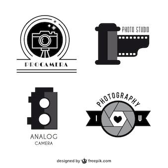 Cameras logo templates pack