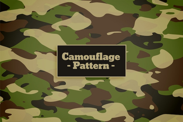 Camouflage pattern background for army and military