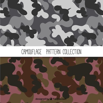 Camouflage pattern collection