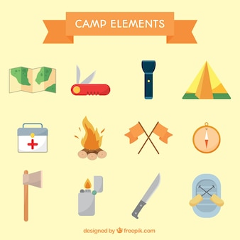 Camp objetcs collection