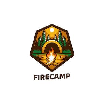 Костер, огонь, лагерь, природа, пламя, костер, лето, дерево, фон, на открытом воздухе, приключение,
